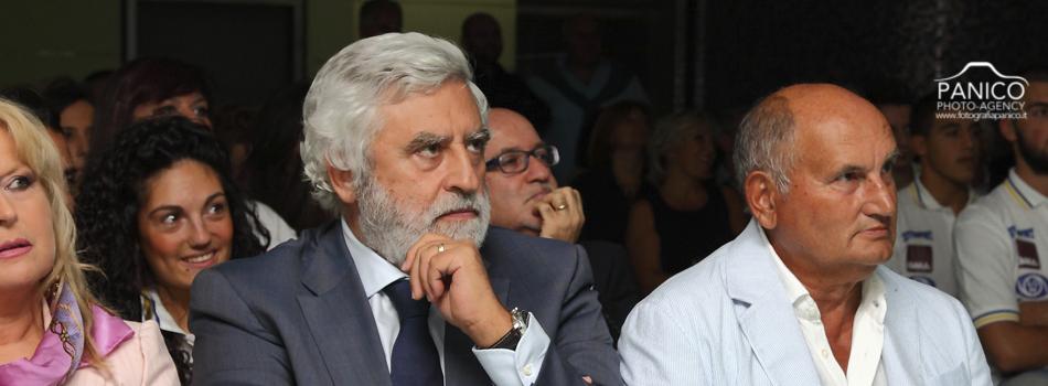Fulvio Palumbo con il presidente Punzi della Gma