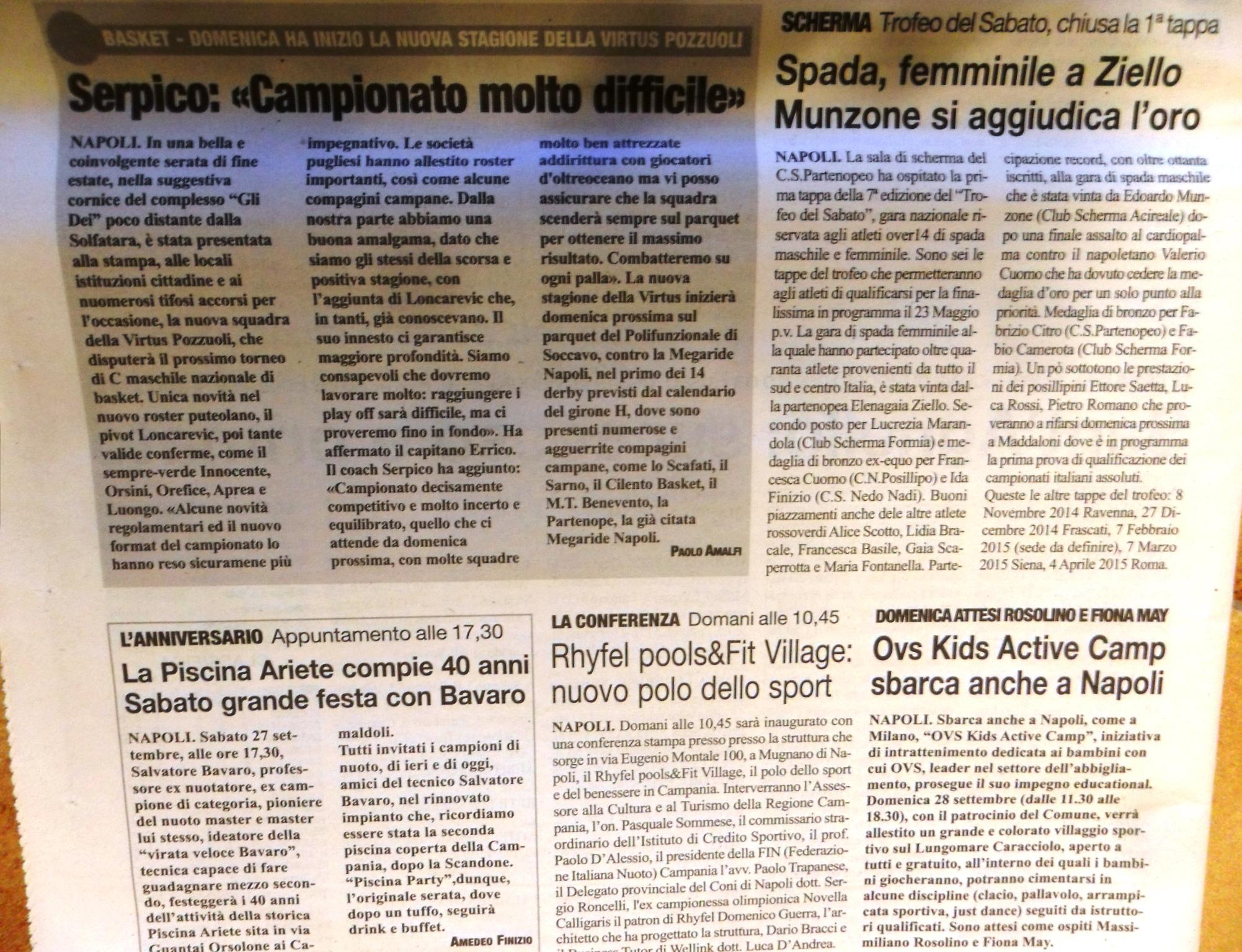 ROMA - 25 settembre 2014