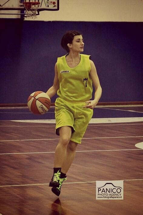 Martina D'Angelo, capitano del Flavio Basket