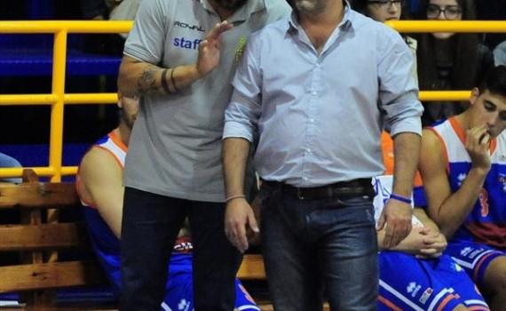 Mauro Serpico con il vice Mario Innocente