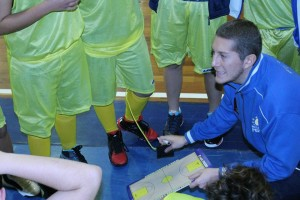 Antonio Pisano, coach dell'Under 13