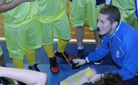 Antonio Pisano, coach dell'Under 13