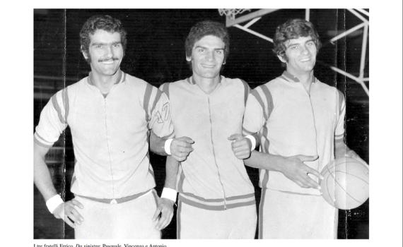 I fratelli, Pasquale, Enzo e Antonio Errico