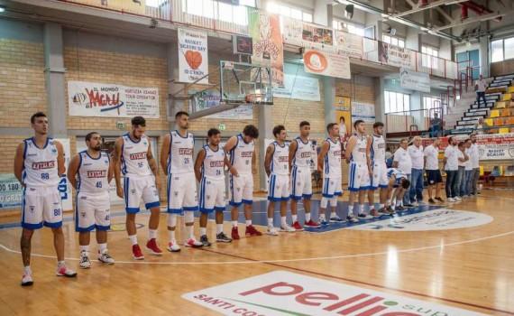 Il roster del Basket Meta Formia